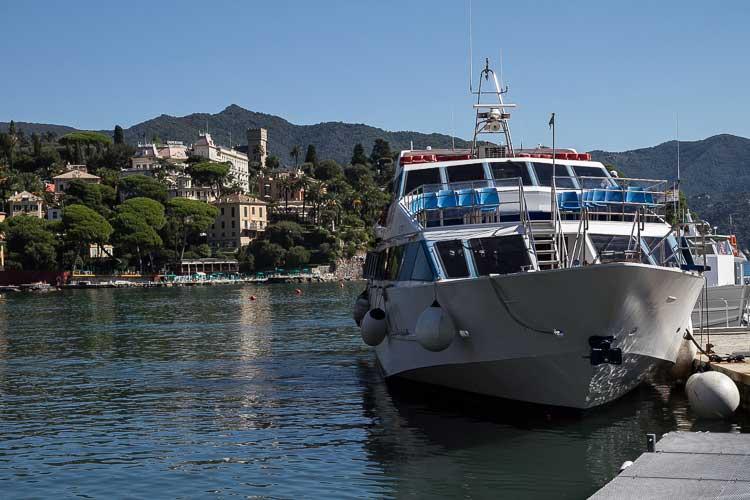 santa margherita ferry dock