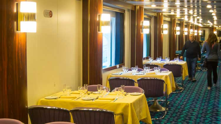 ferry dining room