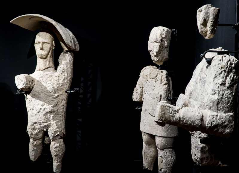 cabras museum, perhistoric giant statues
