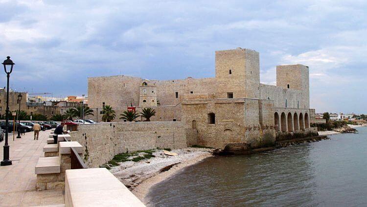 trani castle photo