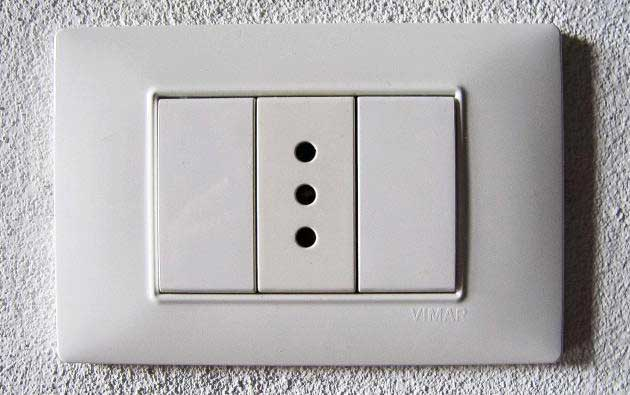 italy power socket