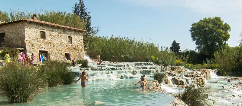 saturna, thermal pools