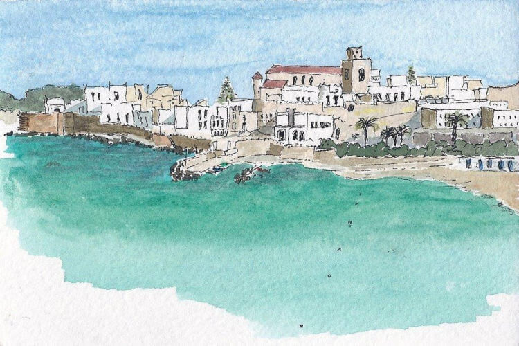 otranto bay sketch
