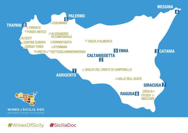 sicily wine map