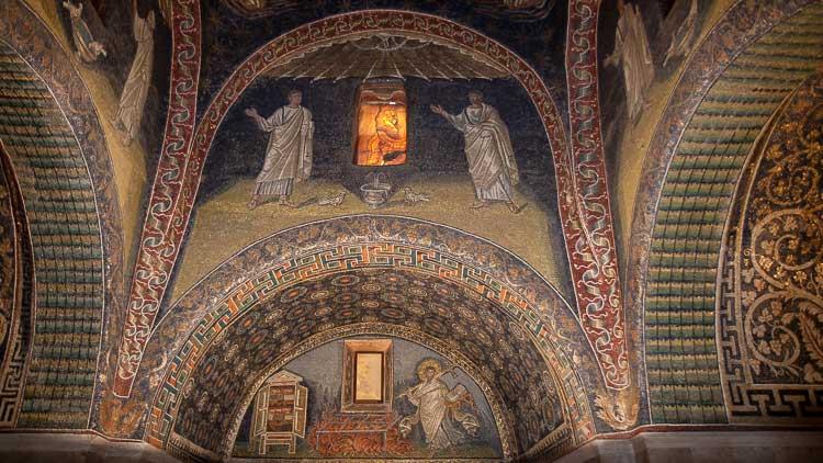 Galla Placidia mosaics, ravenna