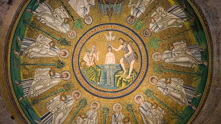 Arian Baptistery dome