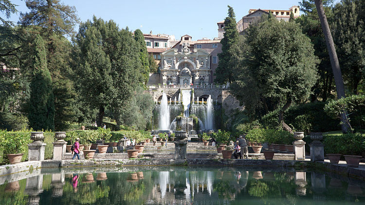 villa d'este fountain photo