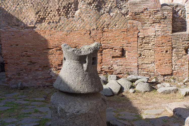 ostia antica grain mill