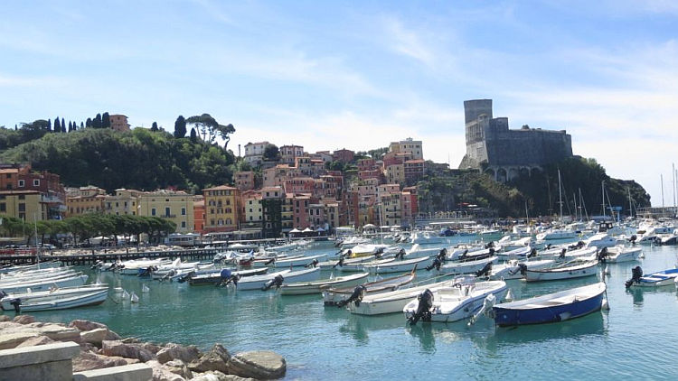 Lerici Italy Map.Lerici San Terenzo And Gulf Of Poets Martha S Italy