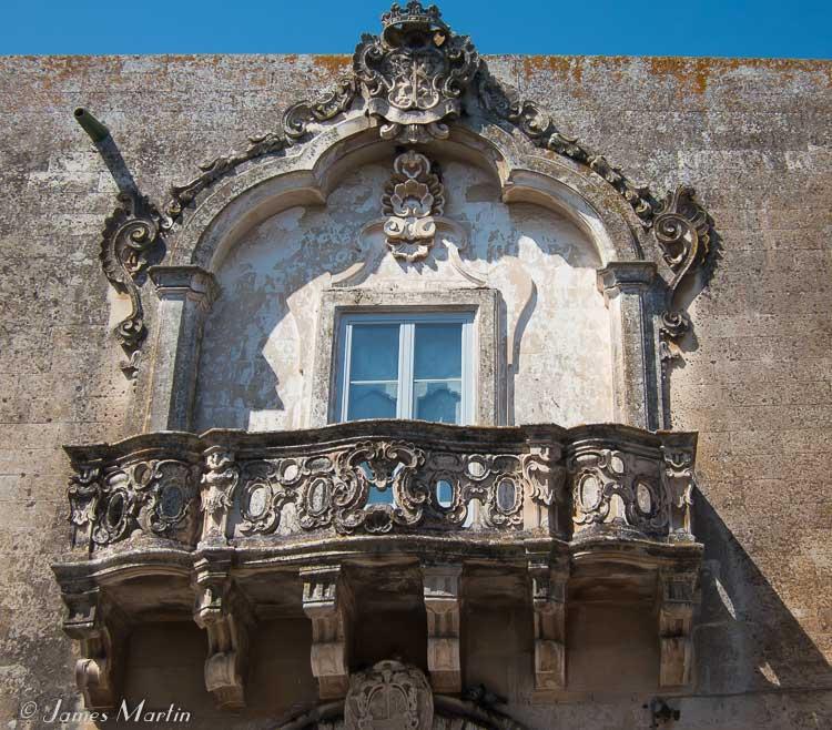 greek salento balcony photo