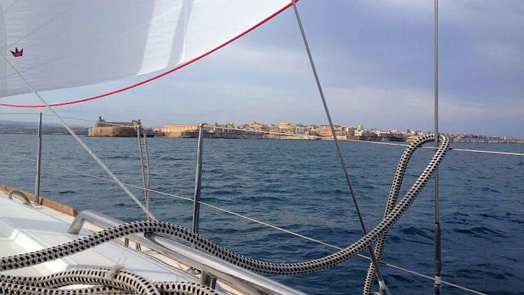 siracusa from sea