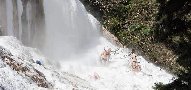 bagno san filippo hot springs