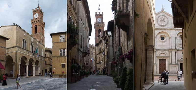 pienza church photos