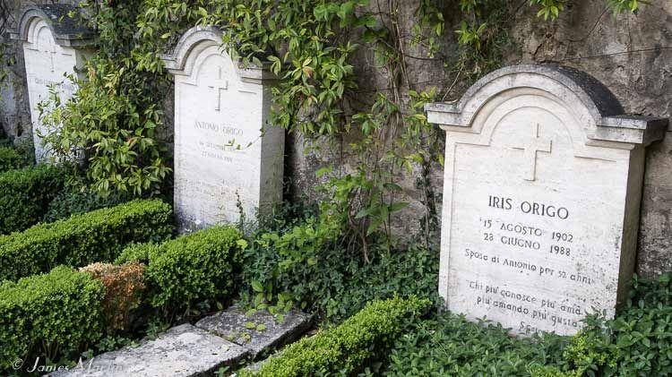 iris origo tombstone