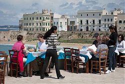 seaside dining gallipoli puglia