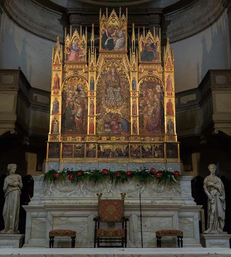 montepulciano duomo triptych