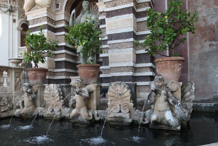 villa d'este organ fountain
