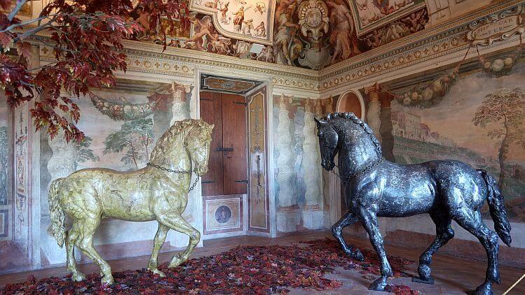 villa d'este horse