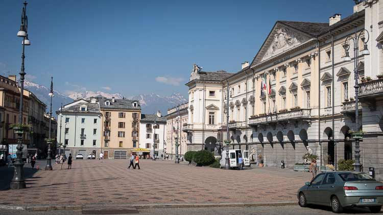aosta main square