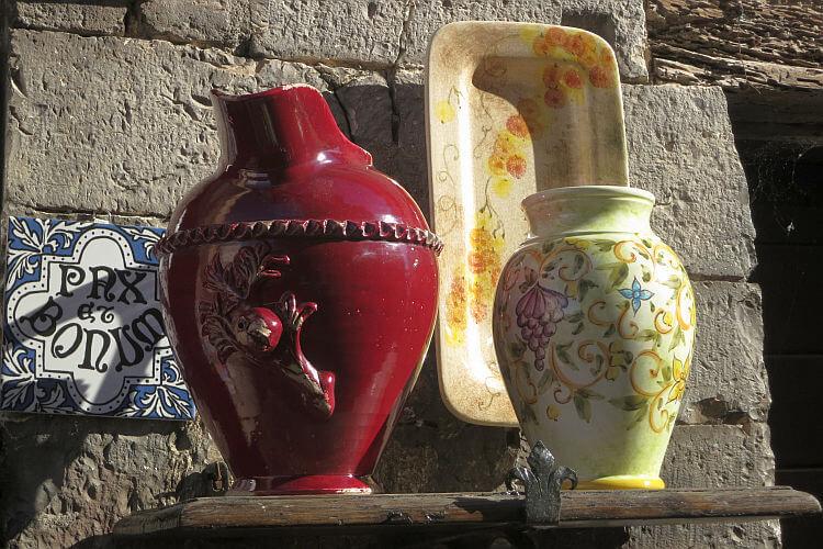 pottery in gubbio