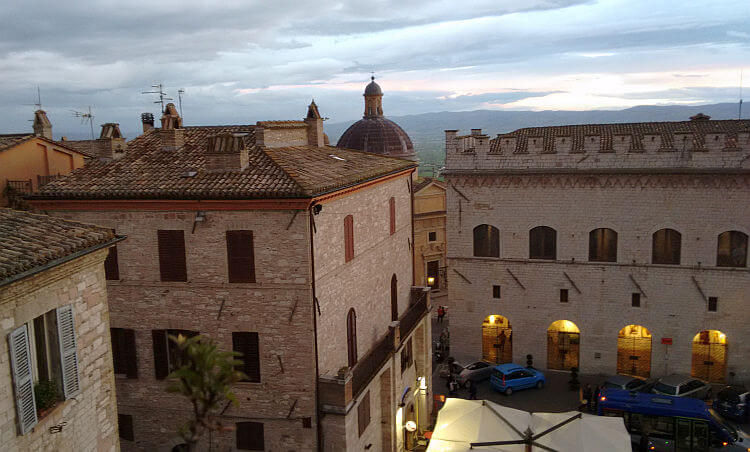 assisi apartments view