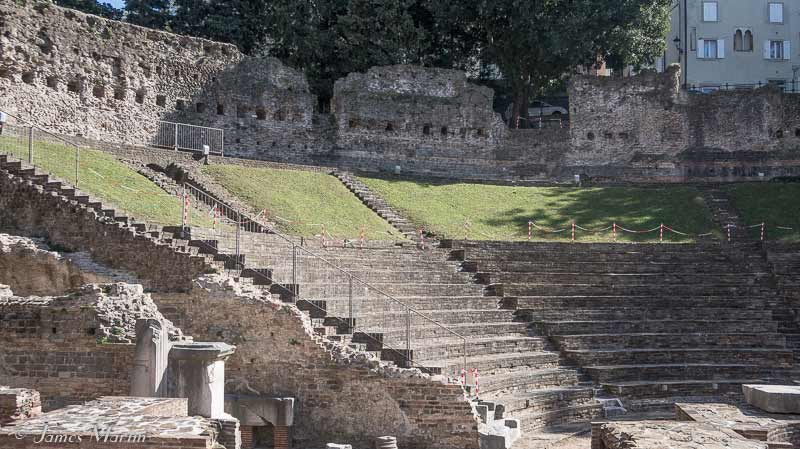 roman theater trieste
