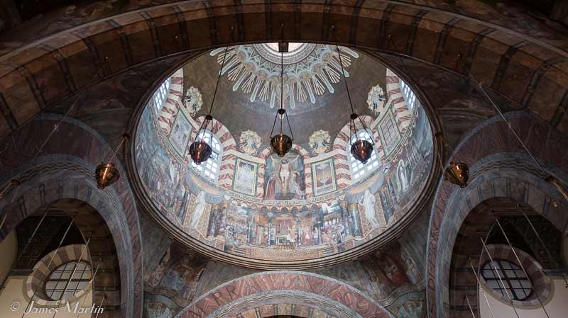 trieste church dome