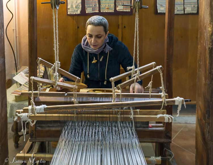 weaving studio perugia