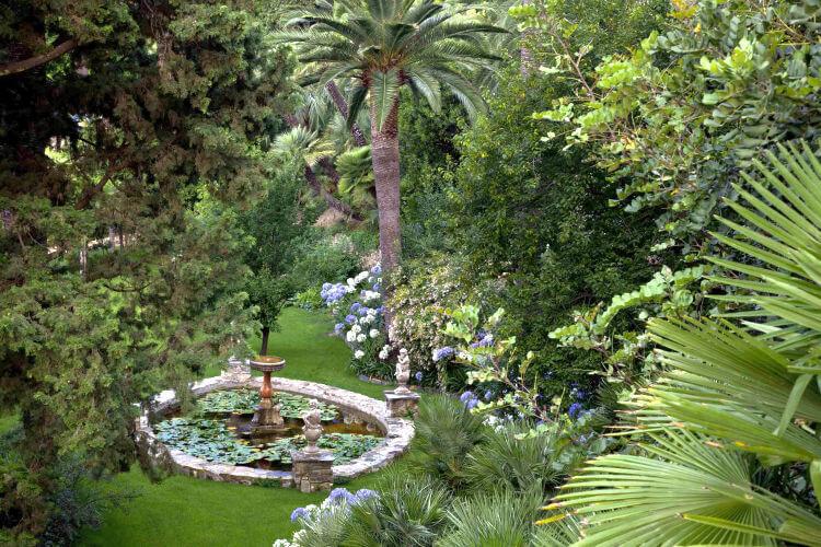 villa della pergola garden