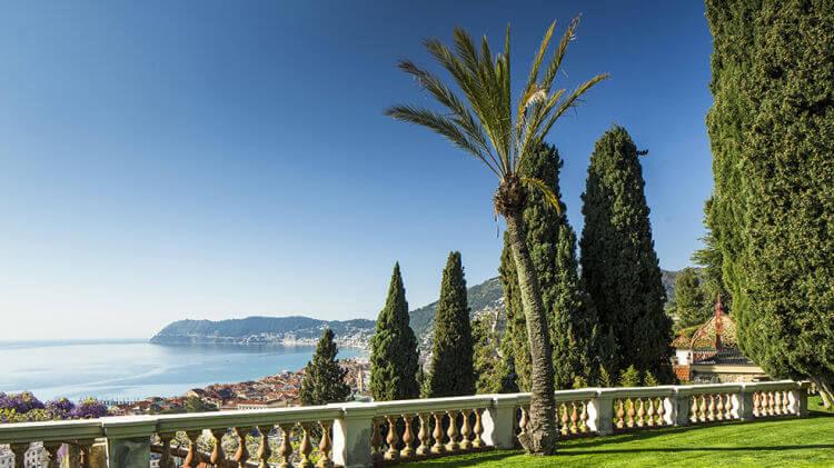 Villa della Pergola Gardens, Alassio