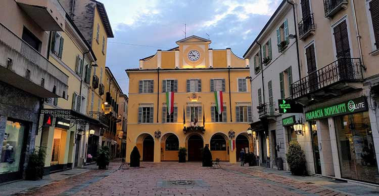 salsomaggiore town hall