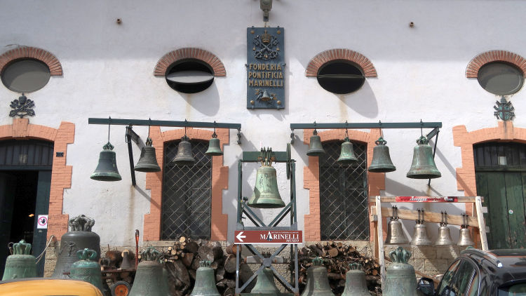 bell foundry agnone