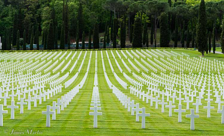 florence american cemetery