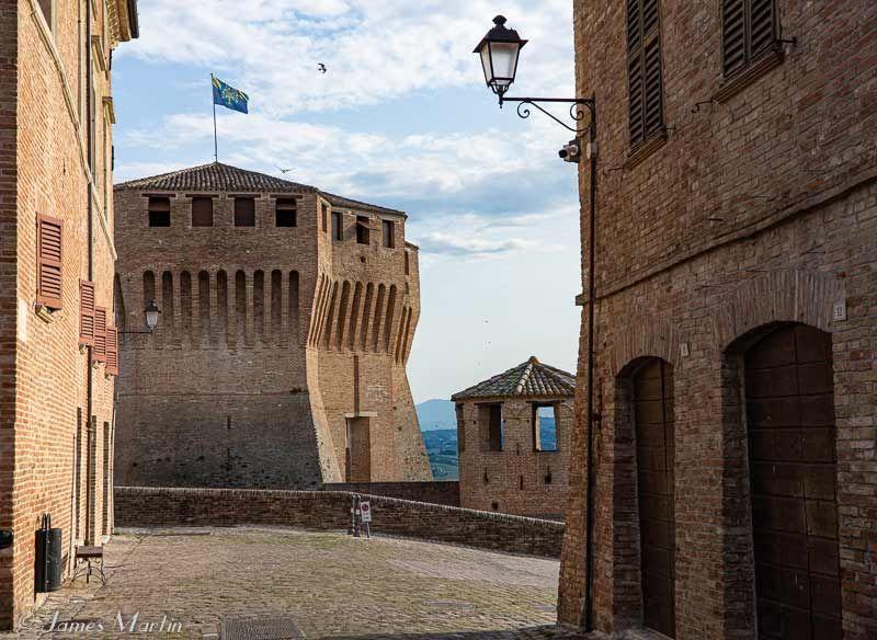 mondavio castle