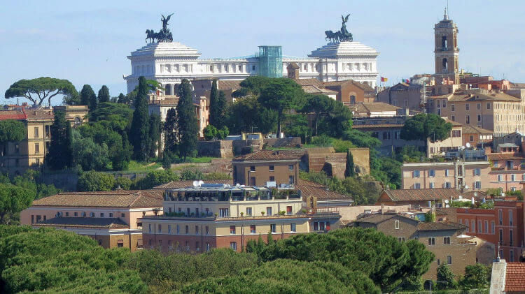 aventine hill view