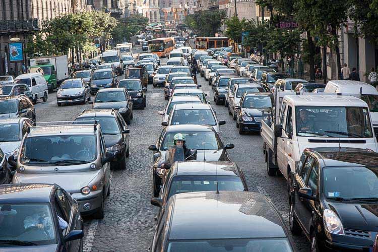 naples traffic