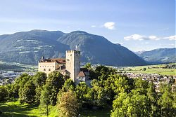 brunica castle and town