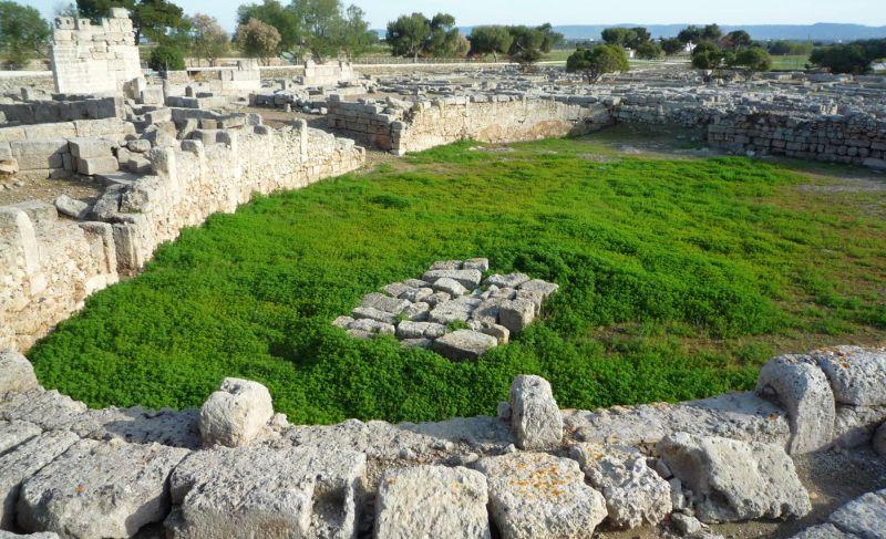 roman arena in egnazia