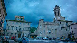 mercatello main square photo